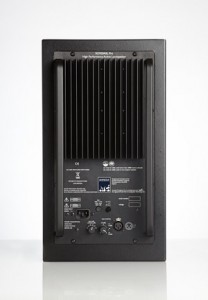 SCM20ASL MkII powered monitor rear view