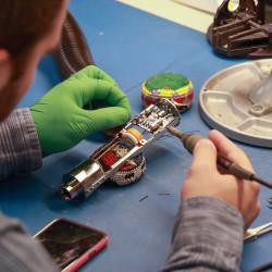 Hand Soldering the Circuit