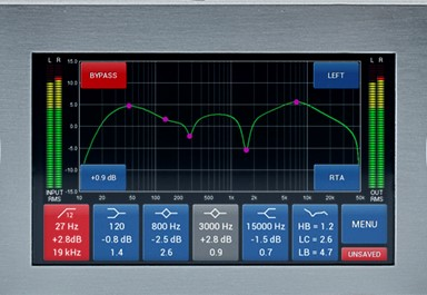 mastering eq display closeup
